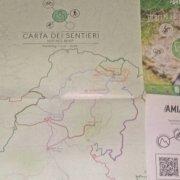 Mappa del territorio monte amiata