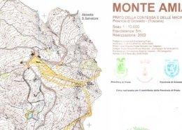 Mappa orienteering le macinaie