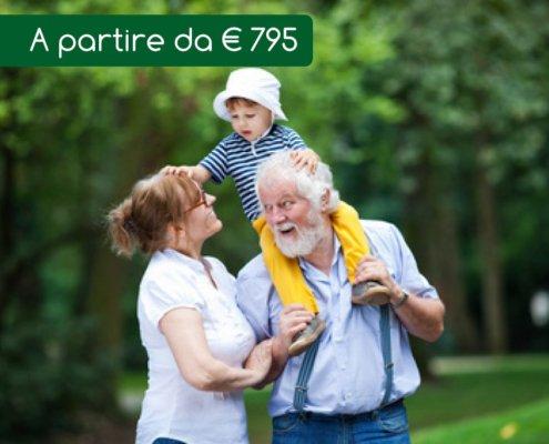 Vacanze nonni e nipoti monte amiata