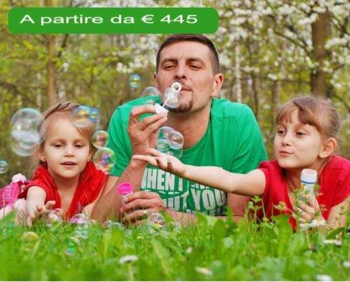 vacanze nel verde con i bambini