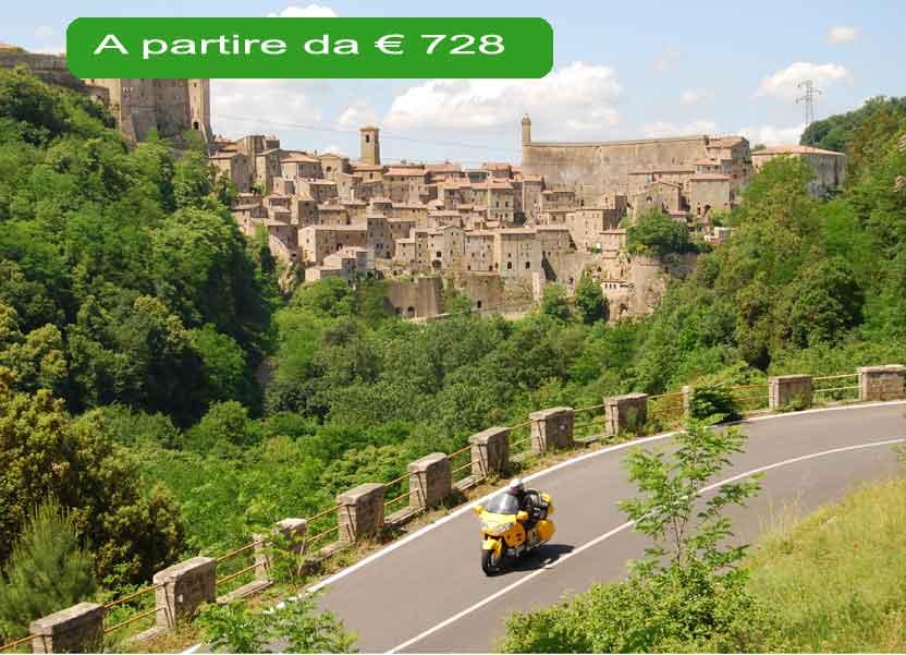 tour in moto 3 regioni